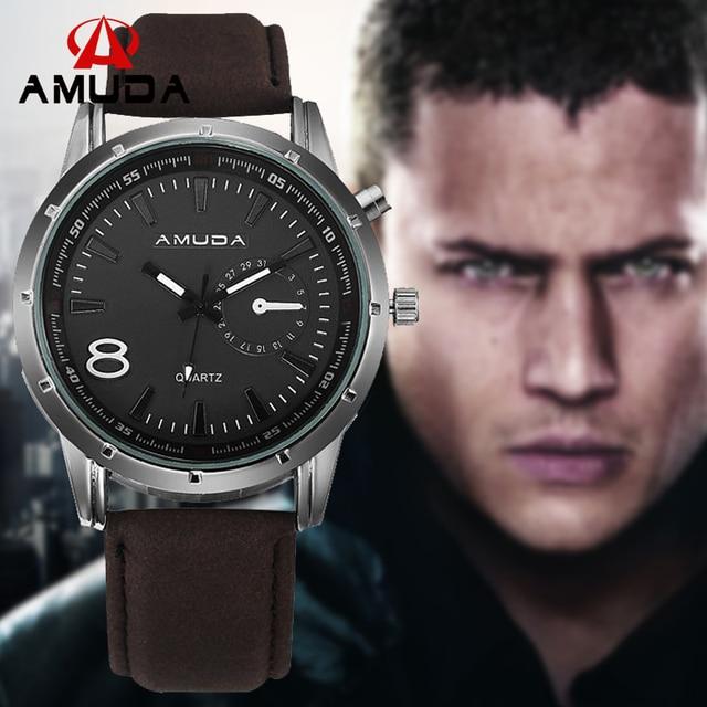 Fashion Men Quartz Watches Men Luxury Brand  Men's Casual Watches Leather Male Business Military Wristwatch Relogio Masculino