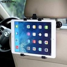 MWIHPHMS ABS автомобильный держатель 360 Регулируемый Поворотный Автомобильный заднее сиденье ленивый планшет Подставка для планшета держатель телефона Универсальный зажим Кронштейн