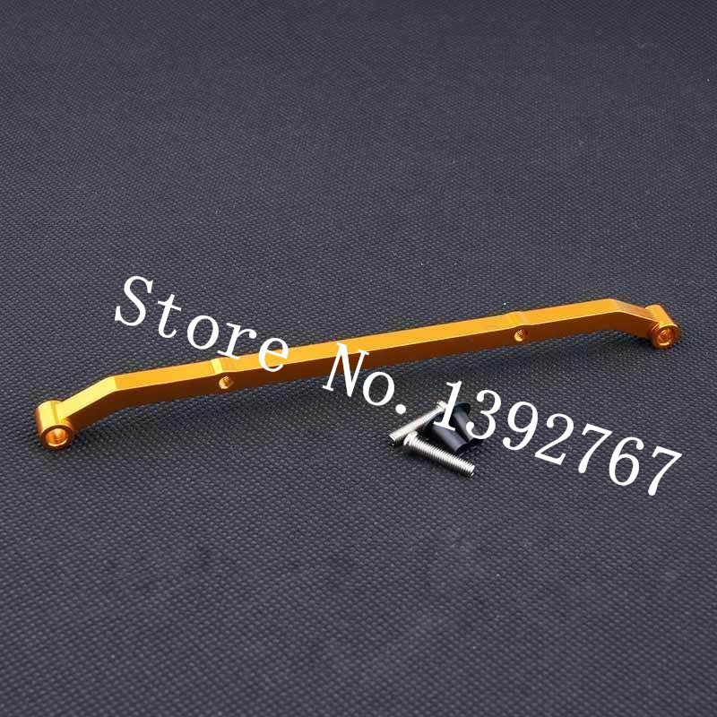AXIAL SCX10 Crawler Parts Aluminum Alloy Steering Linkage Tie Rod For 1/10 Scale Models RC Car SCX-10 SCX10-09 Upgrade Metal