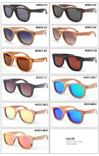 (20pcs/lot) Wood Sunglasses Classic Polarized Handmade