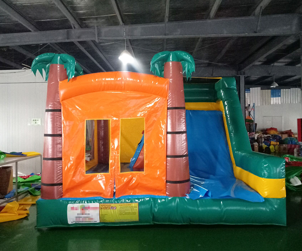 PVC bounce house children amusement park indoor playground equipment