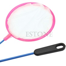O123 1x Mix Color Dense Mesh Round Small Pore Fishing Net