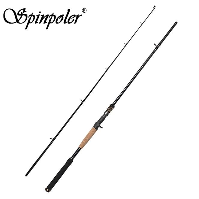 Spinpoler 2.1m 7' Casting Rod Hard Carbon 7 30g Lure