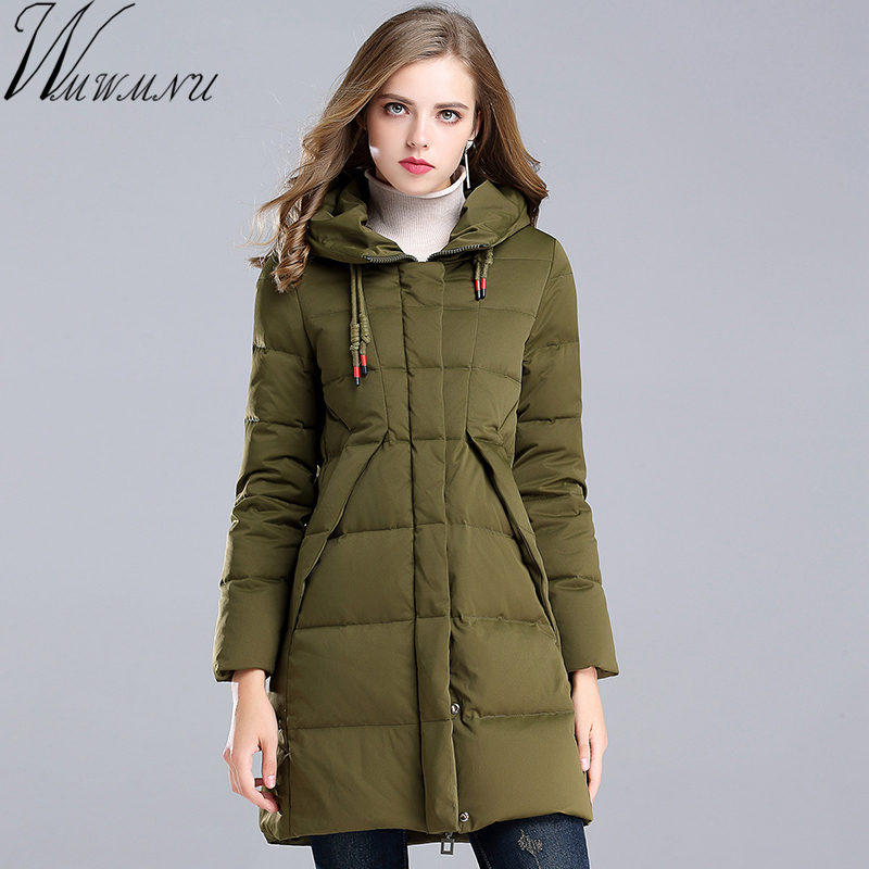 Wmwmnu Winter coat Women 90% Duck Down jacket New Winter casual Winter Women Coat 2017 Warm Parka Female jackets with a hood womensdate 2017 new arrival winter women 90% white duck down jacket slim short coat plus size duck down purple jackets parka