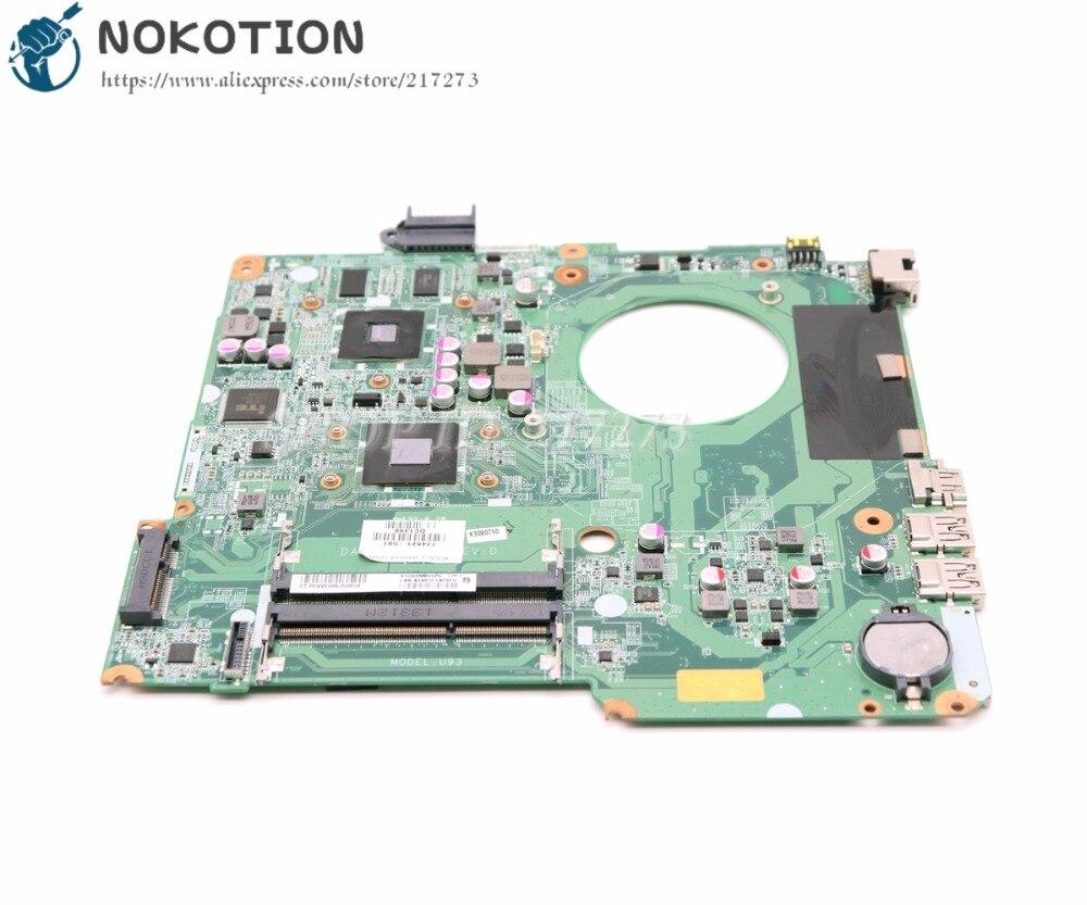 NOKOTION 734821-501 734821-001 For HP 15-N 15z-N 15Z-N100 15Z-N200 Laptop Motherboard DA0U93MB6D0 MAIN BOARD A6-5200 8670M 1GNOKOTION 734821-501 734821-001 For HP 15-N 15z-N 15Z-N100 15Z-N200 Laptop Motherboard DA0U93MB6D0 MAIN BOARD A6-5200 8670M 1G