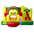 YARD Free Shipping Cartoon Monkey Inflatable Slide Bouncer Bouncy Castle Jumper Combo