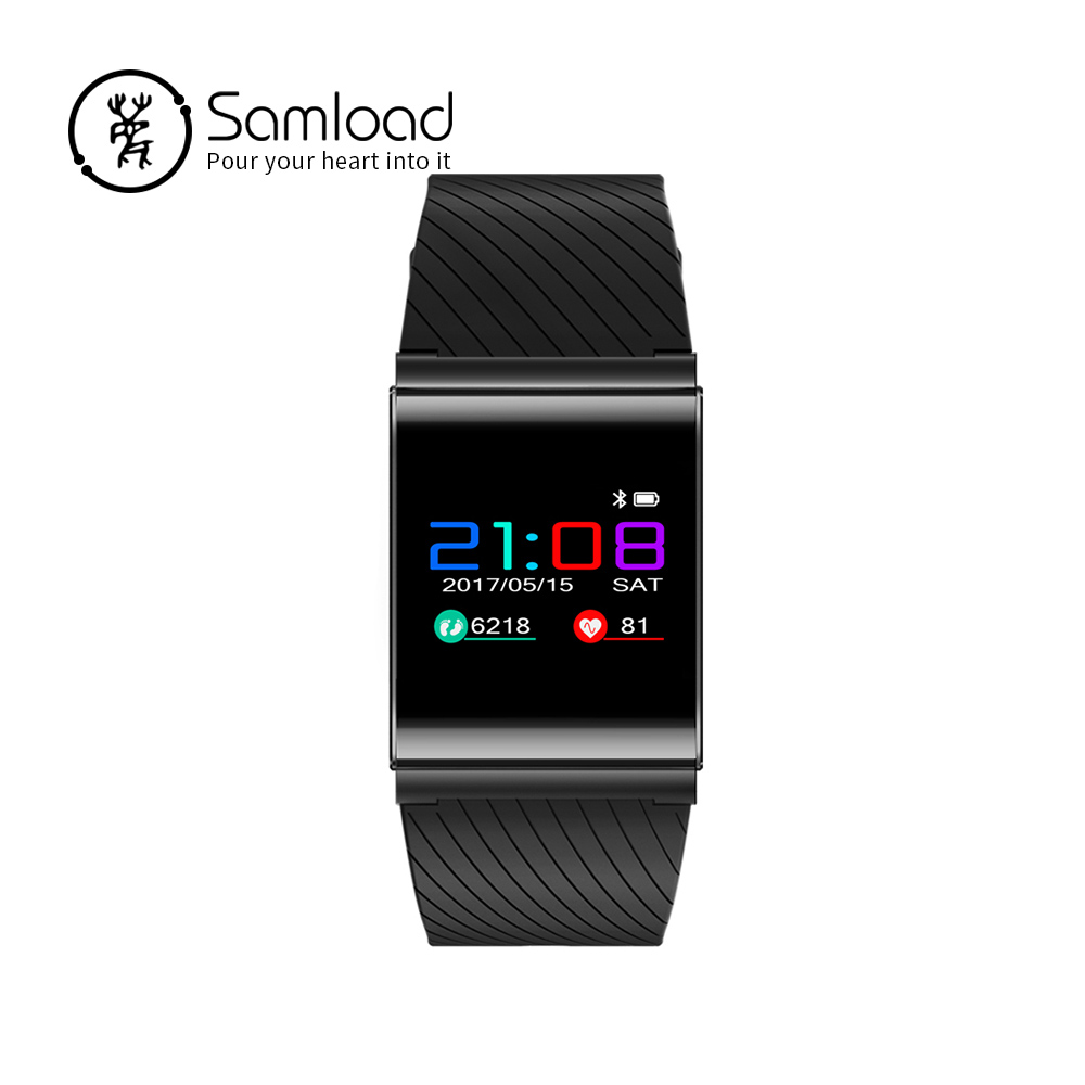 Smart Bracelet Bluetooth Sports Wristband Fitness Tracker Band 3 Pedometer Clock Sedentary Reminder For iPhone7 8 Xiaomi C все цены