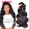 brazilian body wave 3 bundles Brazilian Virgin Hair Body Wave Best Brazilian Hair Weave Bundles Remy Human Hair Extension Soft