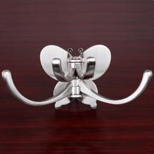 Wall decoration Can be rotated Thickened butterfly hooksPersonalized Clothes Hook Wall Coat Hooks Door Hangers Home Decoration