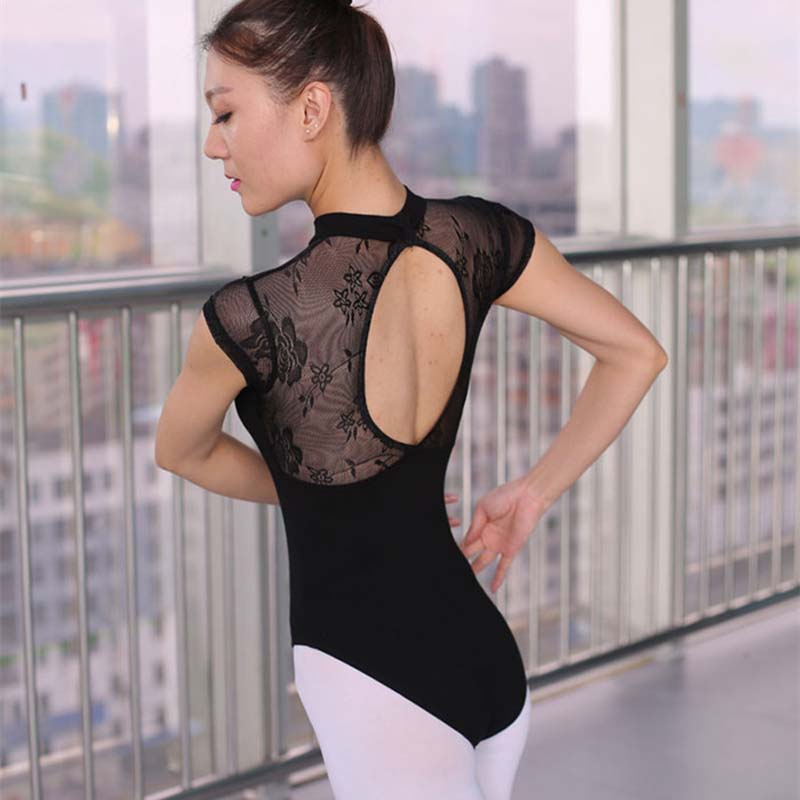 Ballet Leotard For Women High Quality Cotton Lace Ballet Dancing Costume Professional Adult Sexy Gymnastics Leotards