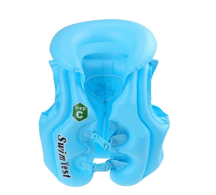 Hot Summer Kids Baby Float Children's Inflatable Swimsuit Inflatable Vest  Swimming Ring Toys 50X43cm