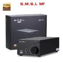 NEUE SMSL M7 AK4452 * 2 32Bit/768 KHz DSD512 Hifi Audio USB DAC mit Verstärker XMOS LM4562 TPA120A2 kopfhörerausgang