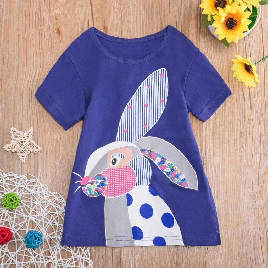 Детская Хлопковая футболка для маленьких мальчиков и девочек, детская футболка без рукавов с рисунком из мультфильма, топы с короткими рукавами, футболка, блузка, F418