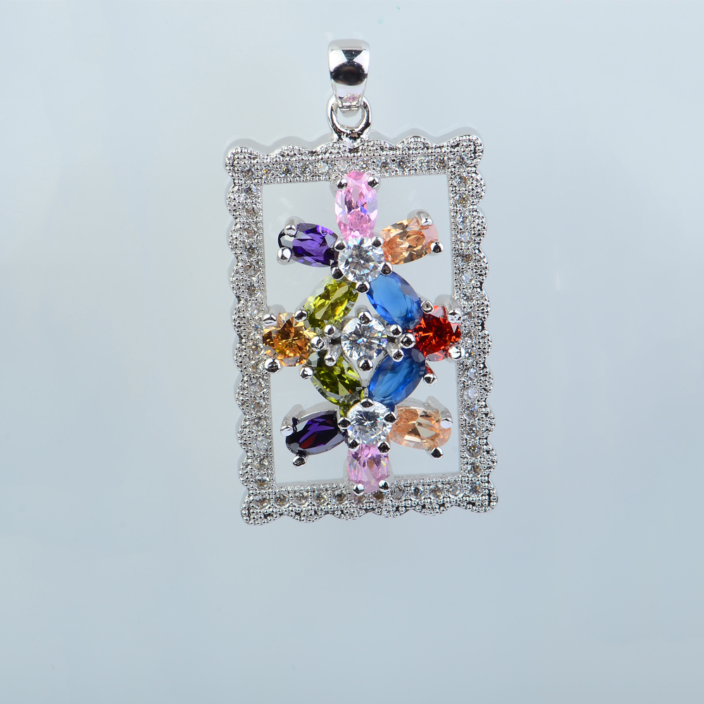 Luxury Pendant Beauty Charming Ethnic Crystal Luxury