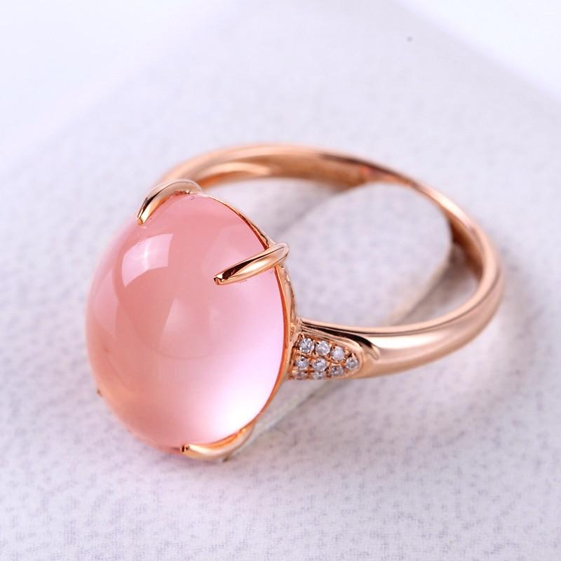 Resultado de imagen para pink quartz rings