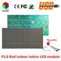 F5.0 P7.62 красный светодиодная вывеска модуль решетки 64X32 пикселей 1/16 сканирования 488*244 мм hub08 Высокое разрешение доска