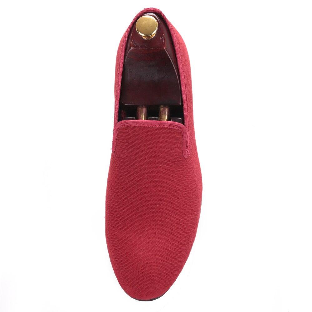Lona Banquete Azul Los Hombres 2017 De Rojo Casuales Zapatos Llegada Zapatillas Masculino Nueva Color Mocasines Fiesta Fumadores Británico Y rojo Estilo Azul zBnqTX