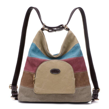 2016 nuevo de las mujeres de señora bolso de viaje bolsa de la escuela mochilas de lona del hombro mochila mochilas lindo bolsas de diseñador de la marca femenina