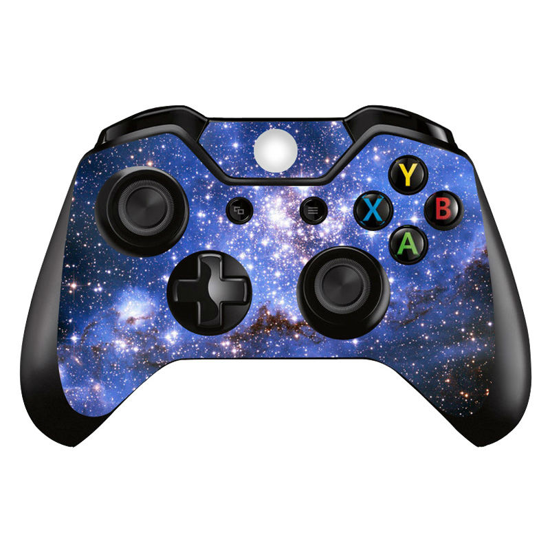Colorskin Starry sky 2 pieces cover decal for xbox one controller skin sticker for xbox one PVC vinyl sticker for xbox one games