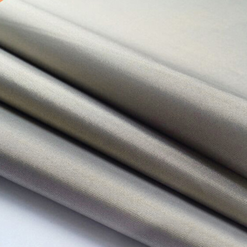 1m*1.1m Roll RFID Shielding Fabric Soft Grounding EMF RF RFID Shielding Fabric For RF Window Protection High Quality