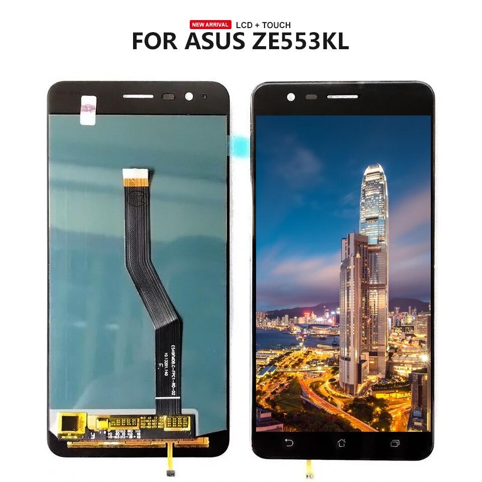 Для Asus ZenFone 3 зум ZE553KL Z01HDA ЖК-дисплей Дисплей Сенсорный экран планшета Сенсор Панель сборки + Инструменты