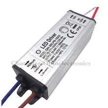 10pcs/lot 6-10x3w 20W LED Driver DC18-34v 650mA Power Supply Waterproof IP67 Constant Current Driver For FloodLight цена