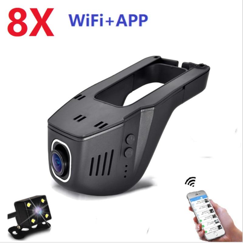 Car DVR Camcorder Camera Registrator Dash-Cam Usb-Ports Digital Night-Vision Dual 1080P