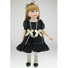 45cm Bb Reborn Menina Boneca Vinil Silicone Fashion Girl Silicone Reborn Baby Dolls Realistic Reborn Baby for Birthday Gifts npkcollection silicone reborn dolls with soft gentle touch boneca reborn doll 18 realistic handmade baby dolls hotsell menina