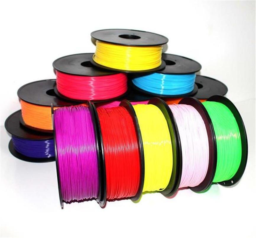 Wilskrachtig Nieuwe Kwaliteit 10 Pcs 10*1.75mm Print Filament Abs Modellering Stereoscopische Voor 3d Tekening Printer Pen Groothandel & 920