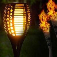 96 LED Garden Solar Light Outdoor Waterproof Ground Lamp Landscape Lawn Flickering Flame Light Solar LED for Garden Decoration