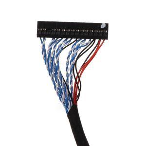 Image 4 - Ganchos Cable LVDS D8 FIX 30P D8 FIX 30 pasadores dobles 2CH 8 bit 1,0mm Pitch