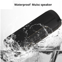 T2 Bluetooth Speaker Waterproof Portable Outdoor Wireless Mini Column sound Box Support TF card FM Stereo Hi-Fi boombox