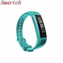 Smartch оригинальный V11 умный Браслет Фитнес трекер часы будильник счетчик шагов умный Браслет Группа Спорт сна Мониторы SMAR