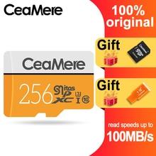 Карта памяти CeaMere Micro SD, 256 ГБ/128 ГБ/64 ГБ, флэш память 32 ГБ/16 ГБ/8 ГБ, класс 10
