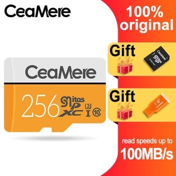 CeaMere Micro SD Card 256GB/128GB/64GB UHS-3 32GB/16GB/8GB Class 10 UHS-1 4GB Memory Card Flash Memory Microsd Free Crad Reader micro sd card 256gb memory card 4gb 8gb 16gb 32gb 64gb 128gb microsd tf card 32gb for cell phone mp3 micro sd 64gb free reader
