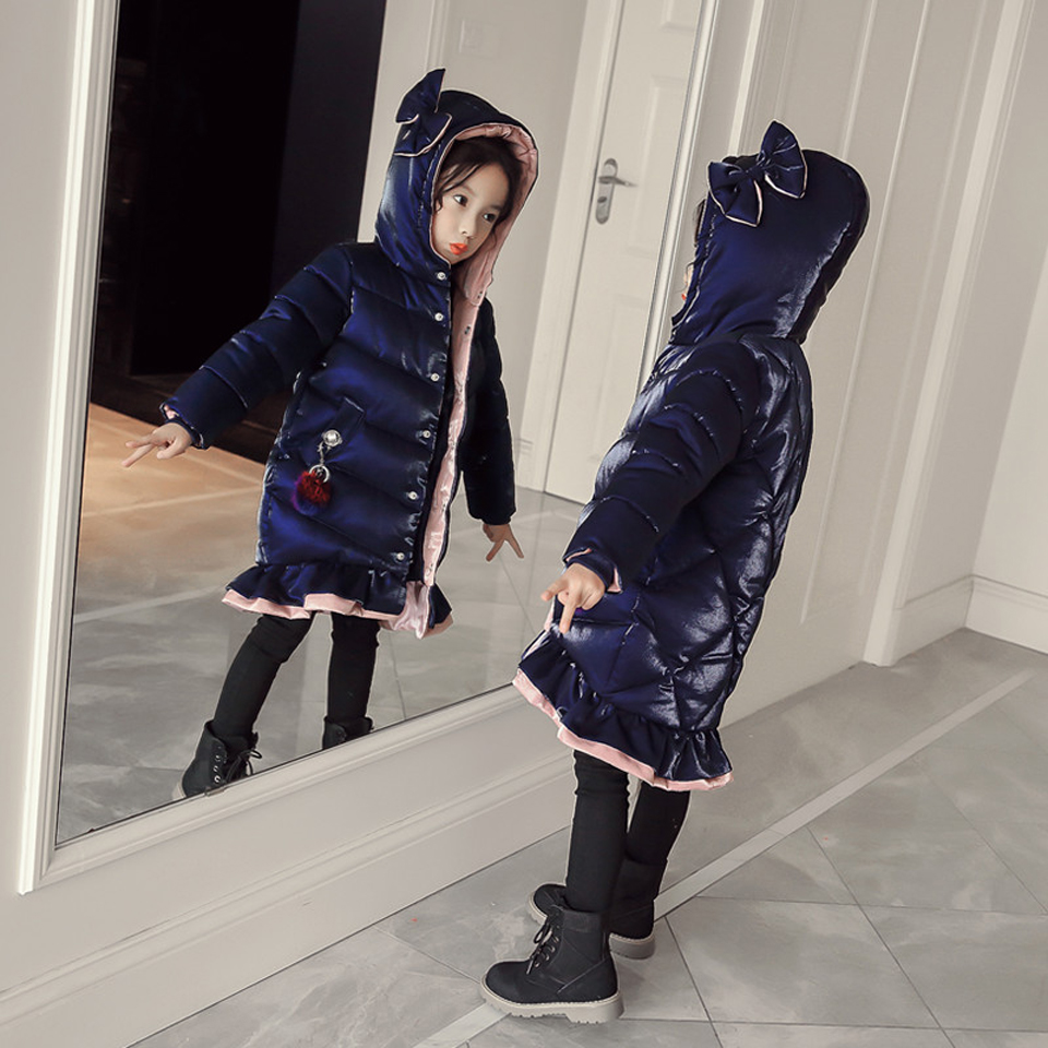 Toddler Girl Winter Clothes Down Jacket For Girl Fur Hooded Thick Warm Parka Down Winter Kids Clothes Cotton Childrens ParkasToddler Girl Winter Clothes Down Jacket For Girl Fur Hooded Thick Warm Parka Down Winter Kids Clothes Cotton Childrens Parkas