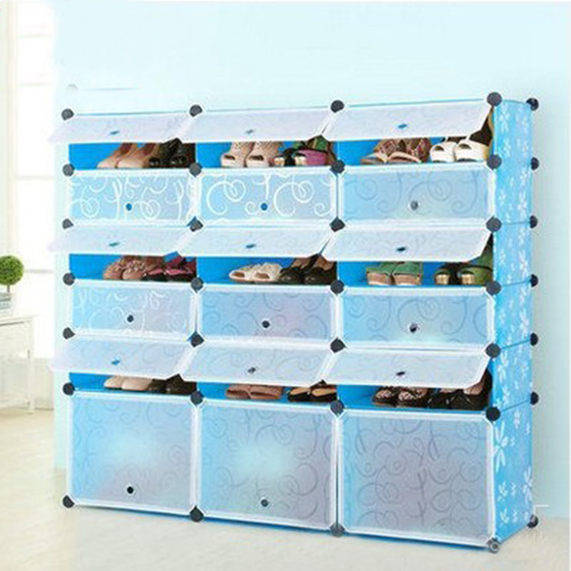 ФОТО Modern Style For Dust Resistance 57x49x37 Shoe Rack Environmental Protection