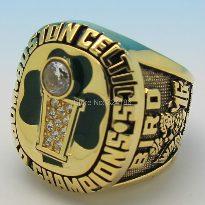 Boston Celtics 1986 Year Championship Basketball Ring Replica Solid Back  For the player Larry Bird-in Rings from Jewelry & Accessories on  Aliexpress.com ...