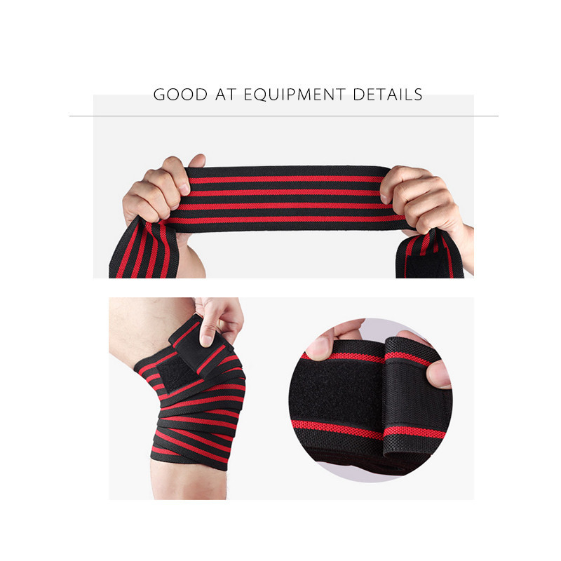 Nylon ties kneecaps thigh strength weightlifting sports belt protectors fitness squats in Elbow Knee Pads from Sports Entertainment
