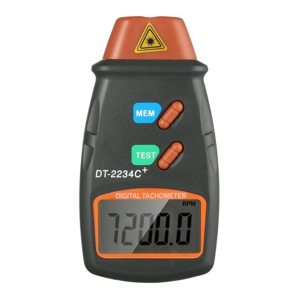 Digitale Laser Photo Tachometer Nicht Kontakt RPM Tach Digitale Laser-Tachometer Tachometer Speed Gauge Motor