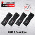 Drives Flash USB Kingston GB GB 32 16 8 GB 64 GB 128 GB Pen Drive USB 3.0 de alta velocidade penDrives DT100G3