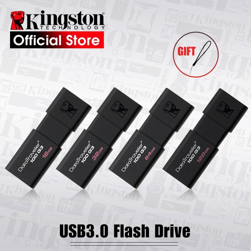 Kingston USB-Sticks 8 GB 16 GB 32 GB 64 GB 128 GB USB 3.0 Pen Drive high speed PenDrives DT100G3