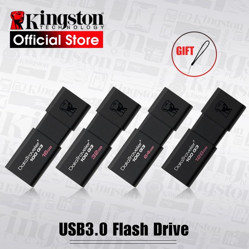 USB-флеш-накопитель Kingston DT100G3, 8/16/32/64/128 Гб