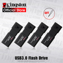 Kingston pen drives usb, 8gb 16gb 32gb 64gb 128gb usb 3.0 pen drive de alta velocidade pendrives dt100g3,