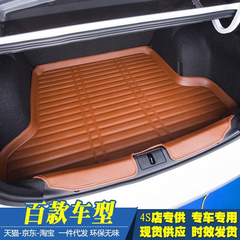 Myfmat personalizado esteiras tronco carro Forros De Carga pad especial para Range Rover sport Evoque Land Rover LR2 Velar LAND-ROVER novo styling