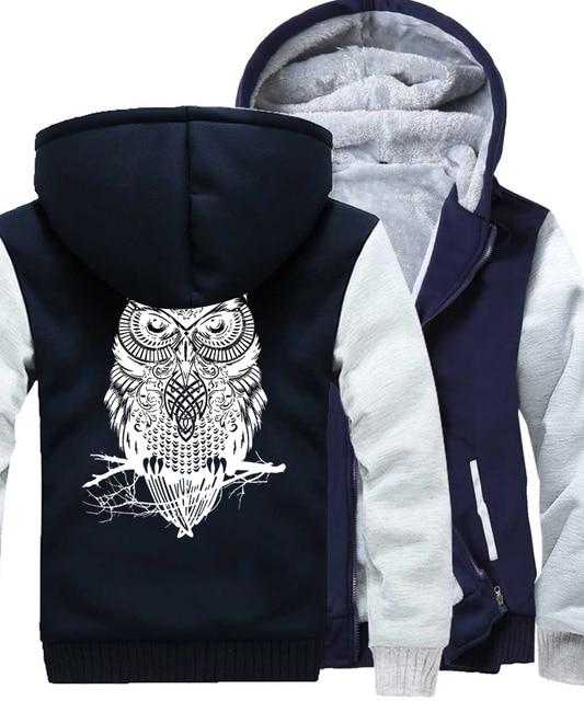 Winter Hoodie For Men Fleece Thick Sweatshirt  4