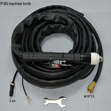 Promotion! 20 Foot & 6 Meter,P80 Panasonic Air quality plasma torch cutting machine Welding Capacity 80-100Amp Long custom цена в Москве и Питере