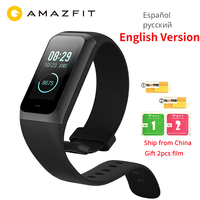 English Original Xiaomi Huami Amazfit Cor 2 Smart Band 2 Music Control 5ATM Waterproof 1.23 Color Touch Screen Long Standby NEW