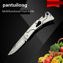 Function  Woodworking Multi Knife Stainless Fruits Outdoors Fold Recommend Blades Craft Artwork Cutting DIY Carving Stencil