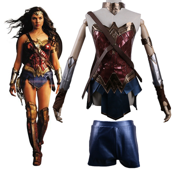2017 Batman v Superman Dawn of Justice League Wonder Woman Costume Cosplay Woman's Superhero Diana Prince Halloween